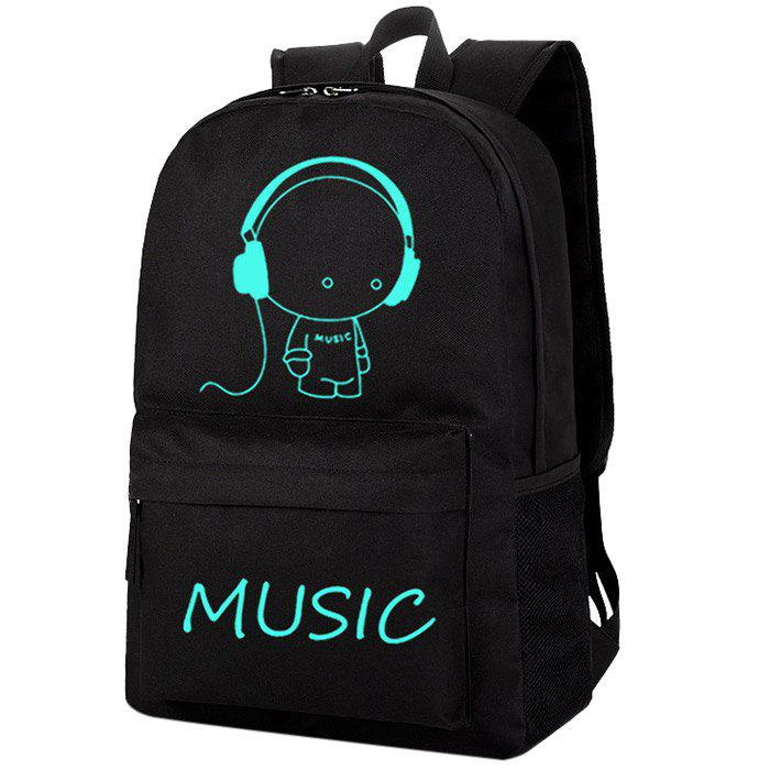 Outfit Fashion Anti-theft USB Laptop Backpack for Outdoor Traveling