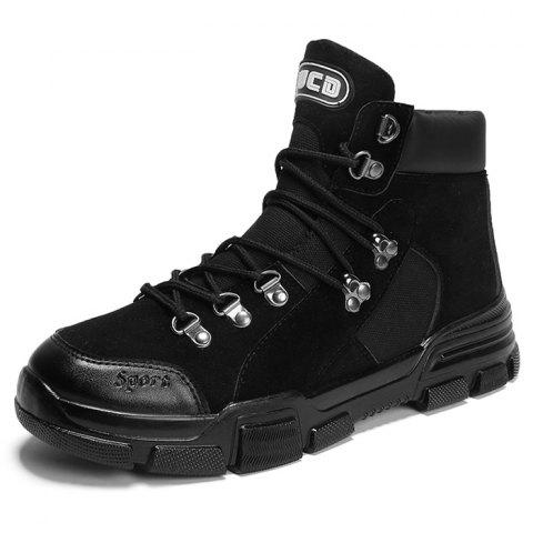 Outdoor Stylish Lace-up Anti-slip Boots for Men