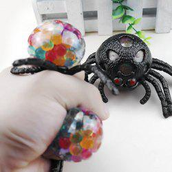 Creative Spider Shape TPR Squeeze Toy 1pc -