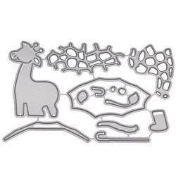 1804487 Giraffe Pattern Carton Steel Cutting Dies -