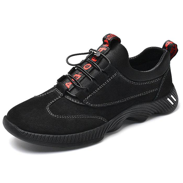 Fancy PU Leather Casual Sports Shoes