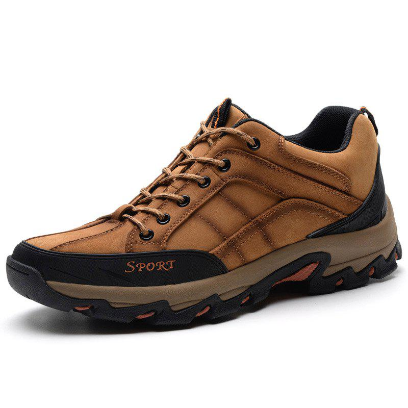 Unique Suede Plus Size Outdoor Hiking Shoes for Man