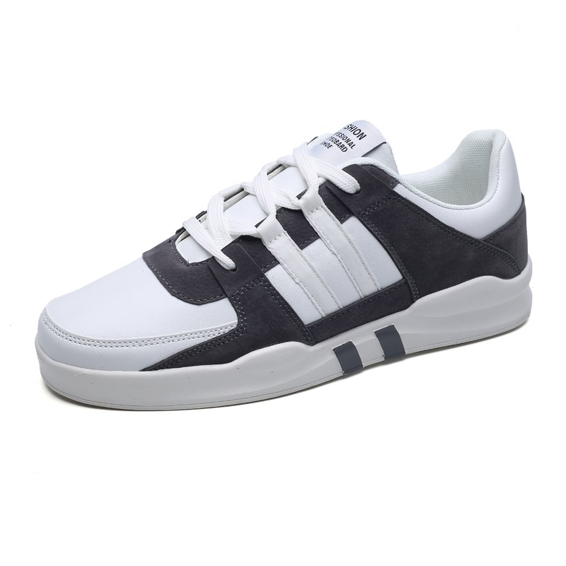 Online Men's Daily Lace Up Skateboard Shoes Sneakers