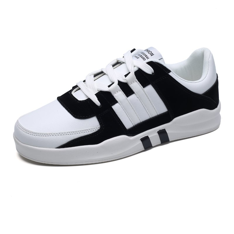 Shop Men's Daily Lace Up Skateboard Shoes Sneakers