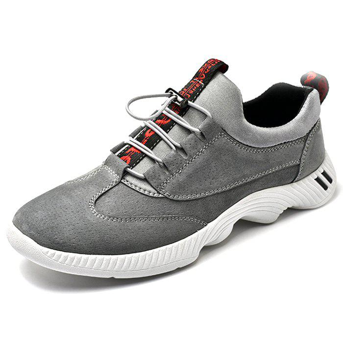 Fashion PU Leather Casual Sports Shoes