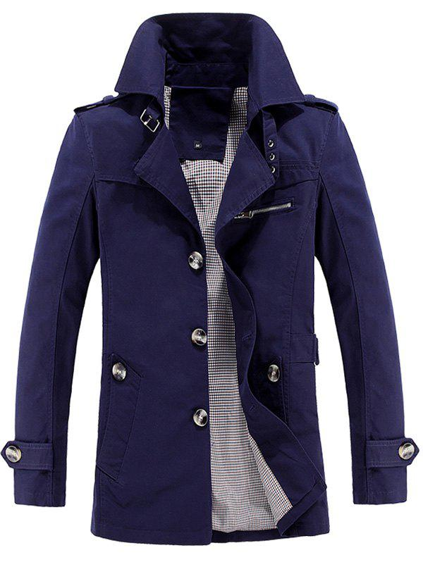 Unique Fashion Business Casual Trench for Men