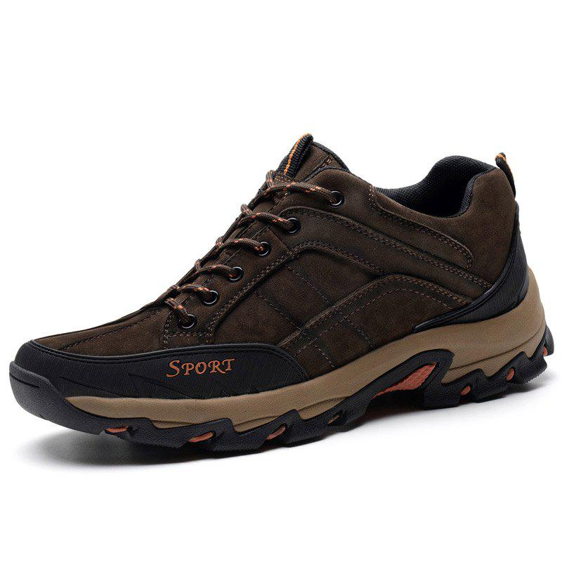 Online Suede Plus Size Outdoor Hiking Shoes for Man