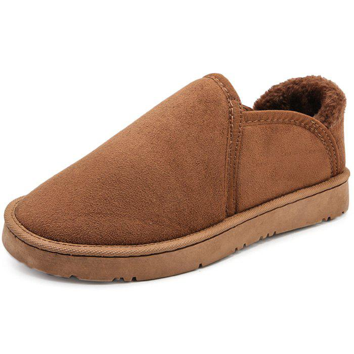 Affordable Fashion Comfortable Warm Leisure Casual Flat Shoes for Men