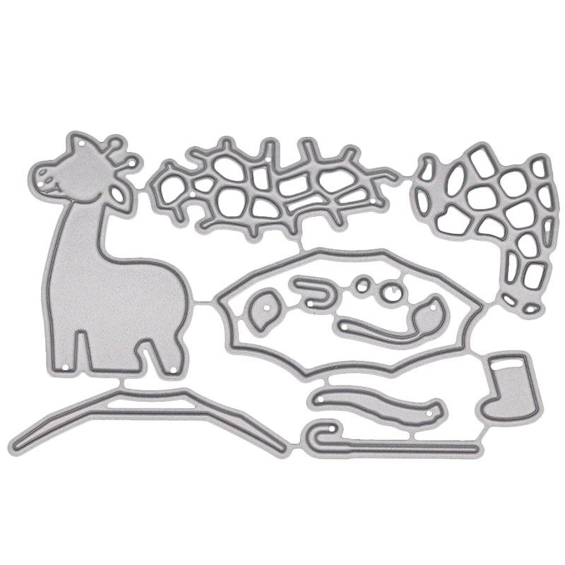 New 1804487 Giraffe Pattern Carton Steel Cutting Dies