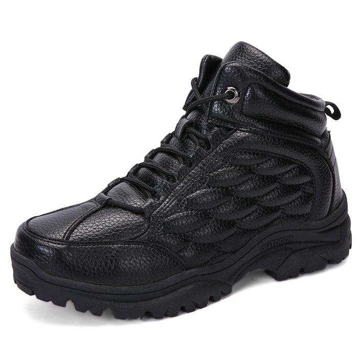 Latest Leisure Outdoor Warm Anti-slip Hiking Shoes for Men