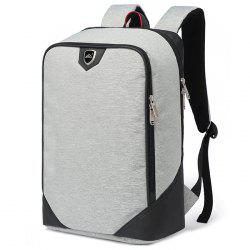 Waterproof Canvas Men's Backpack -