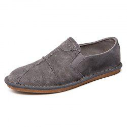 Stylish Leather Leisure Comfortable Flat Shoes for Men -