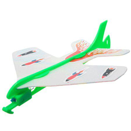 Sale LED Light Elastic Plane DIY Model Arrow Rocket Flying Toy Set Party Gift