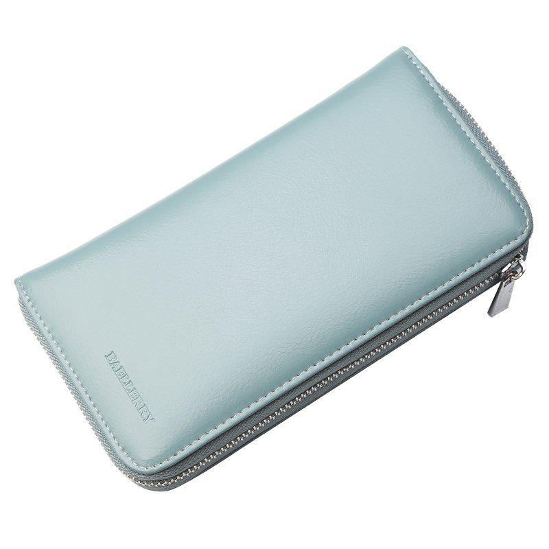 Online Baelerry Fashion Solid Color Wallets