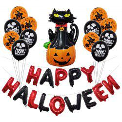 Halloween Party Decorative Balloons Set -