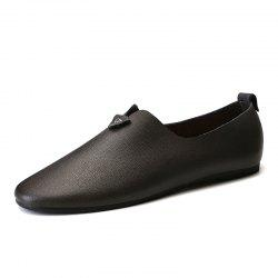 Fashion Durable Comfortable Leisure Slip-on Casual Leather Shoes for Men -