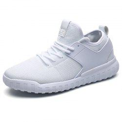 Men Mesh Lace Up Casual Sports Shoes Sneakers -