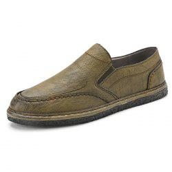 Leather Casual Flat Shoes for Men -