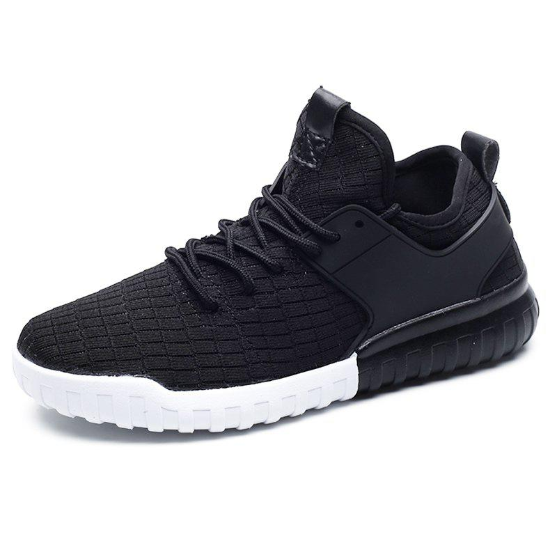 Cheap Men Mesh Lace Up Casual Sports Shoes Sneakers
