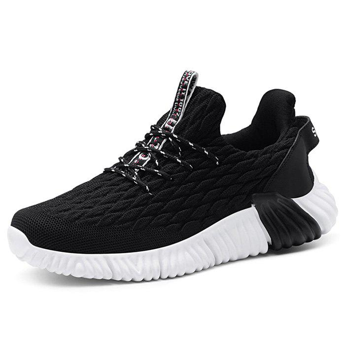 Affordable Knitted Casual Sports Shoes Sneaker for Men