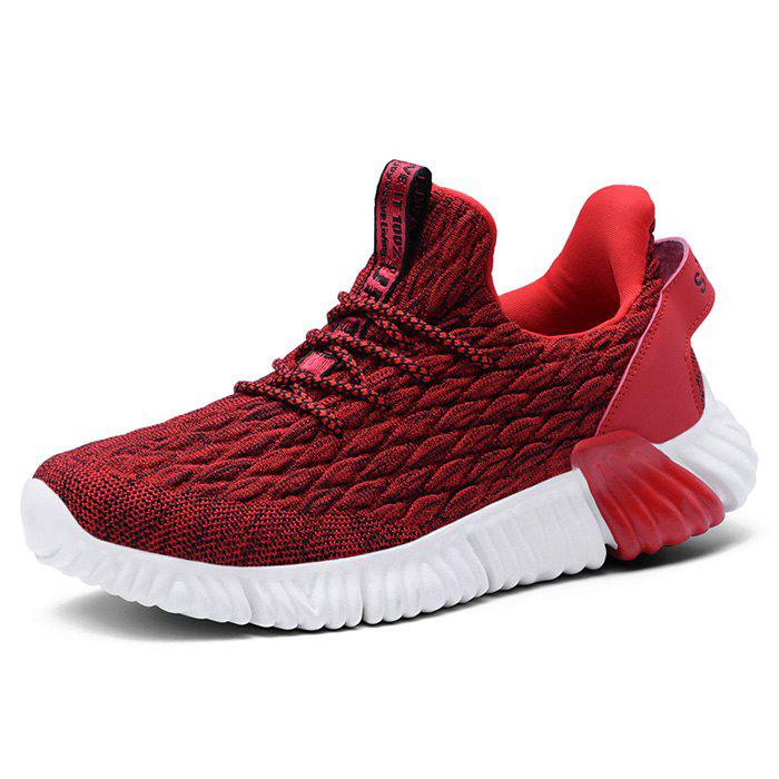 Outfit Knitted Casual Sports Shoes Sneaker for Men