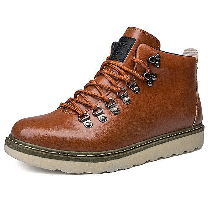 Store Stylish Anti-slip Lace-up Boots for Men