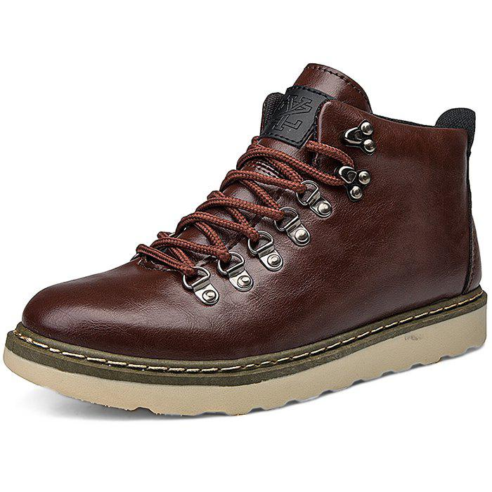 Chic Stylish Anti-slip Lace-up Boots for Men