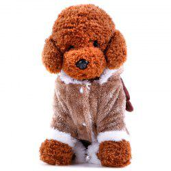 Pet Thickened Four Feet Autumn Winter Clothes -