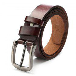 Retro Pin Buckle Leather Belt for Man -