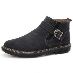 Men's High-top Warm Leather Boots -