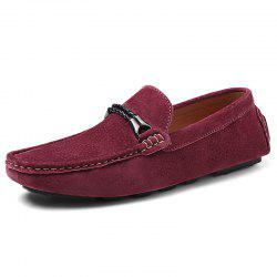 Fashion Suede Flat Shoes Loafers for Men -