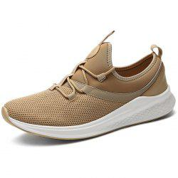 Stylish Breathable Shock-absorbing Lace-up Sneakers for Men -