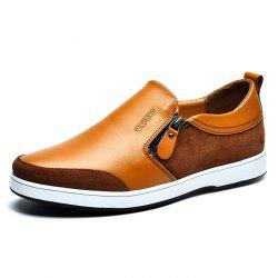 PU Zip Casual Chaussures pour hommes -