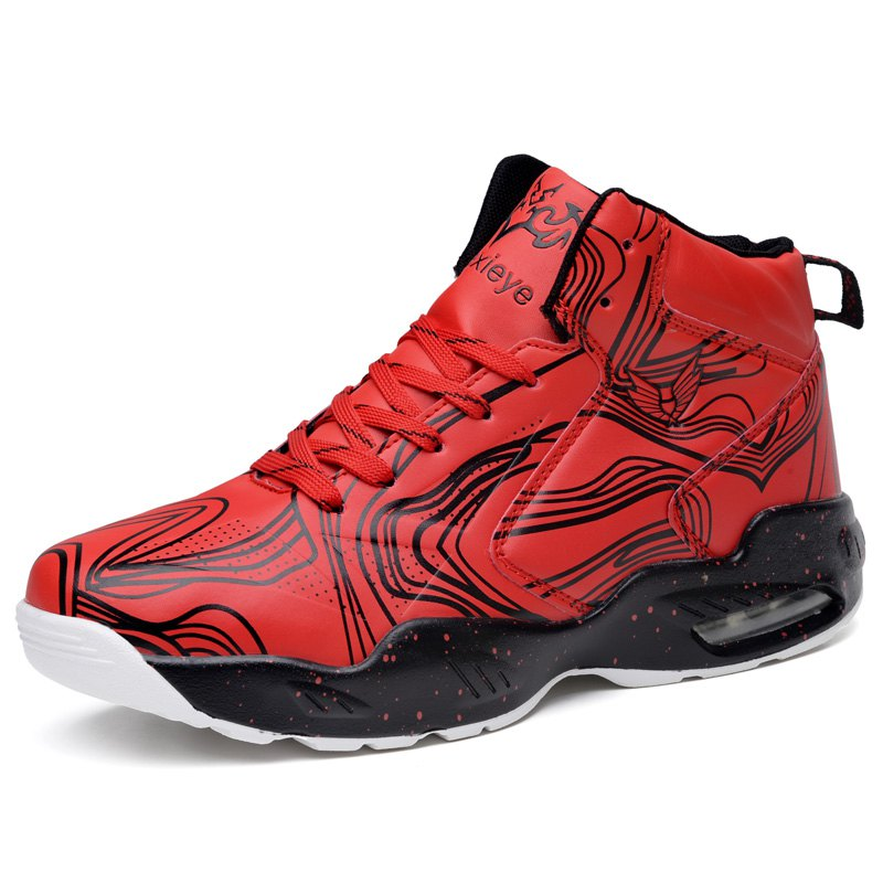 Outfit Comfortable Wear-resisting Air Cushioning Basketball Shoes