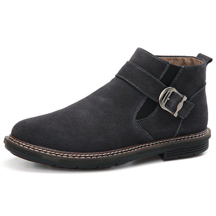 Discount Men's High-top Warm Leather Boots