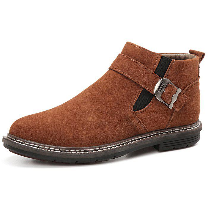 New Men's High-top Warm Leather Boots
