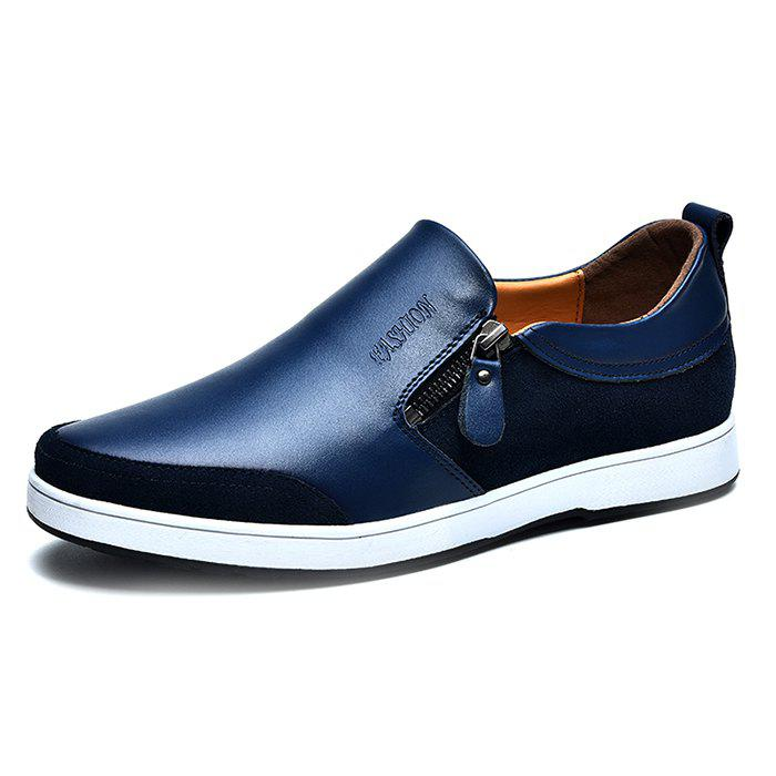 PU Zip Casual Chaussures pour hommes