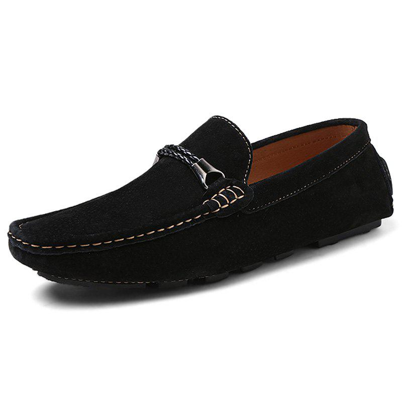 Affordable Fashion Suede Flat Shoes Loafers for Men