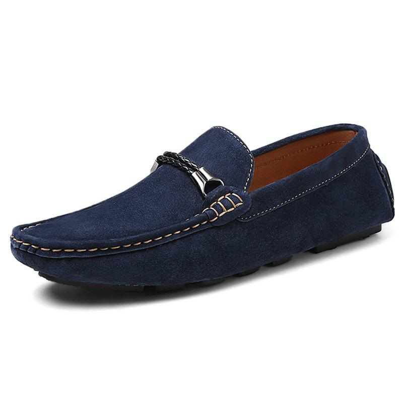 Chic Fashion Suede Flat Shoes Loafers for Men