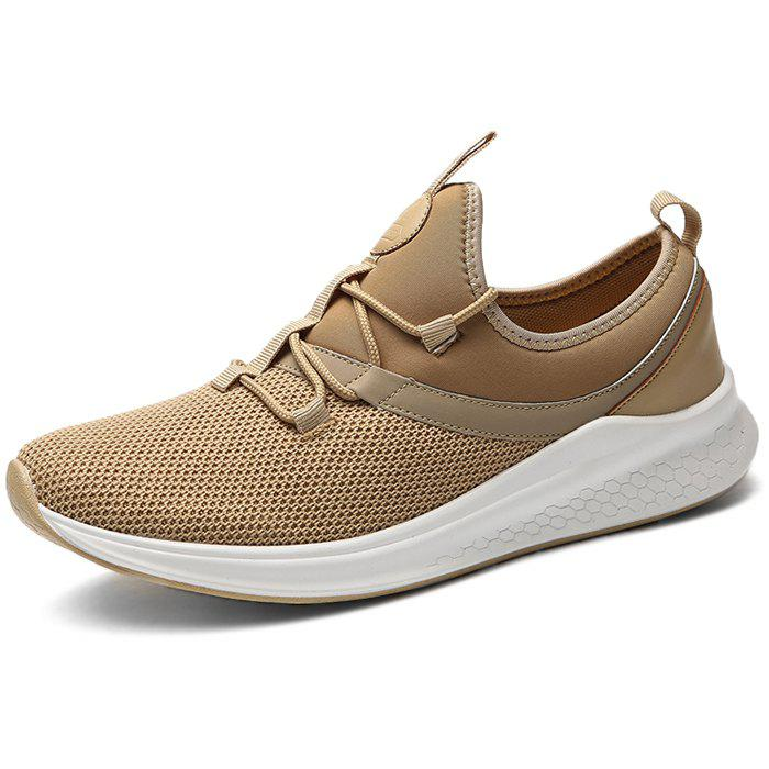 Discount Stylish Breathable Shock-absorbing Lace-up Sneakers for Men