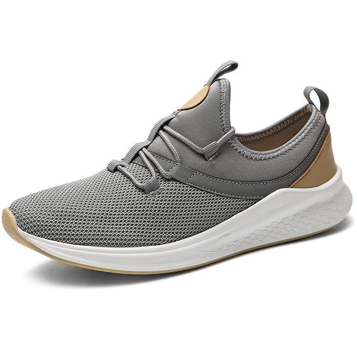 Store Stylish Breathable Shock-absorbing Lace-up Sneakers for Men