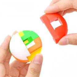 Creative Intelligent Puzzle Assembly Ball Kids Game Funny Toy -