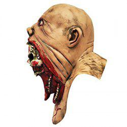 Disgusting Rotting Bloodied Face Halloween Monstrous Vampire Mask -