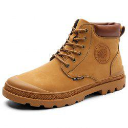 Microfiber Leather Wearable Boots Shoes for Men -