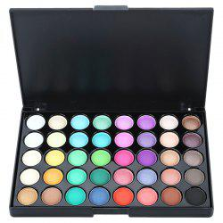 popfeel 40-color Easy Matching Long-lasting Earth Tone Gentle Ingredients Eye Shadow -
