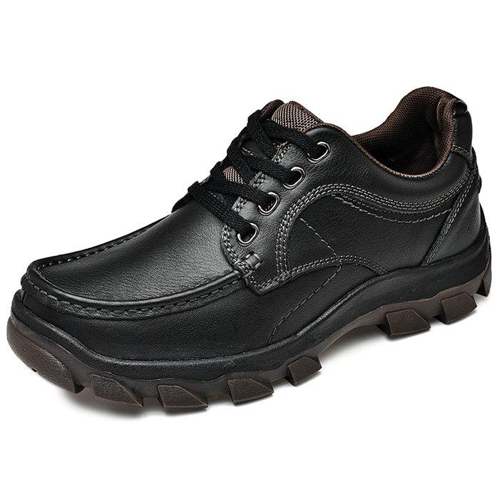 Buy Leather Casual Lace Up Shoes for Men