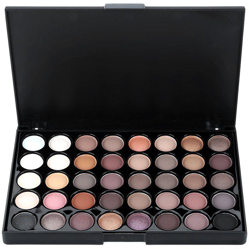 Discount popfeel 40-color Easy Matching Long-lasting Earth Tone Gentle Ingredients Eye Shadow