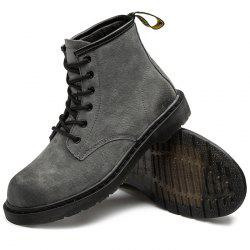 Stylish Lace-up High-top Wear-resistant Boots for Men -