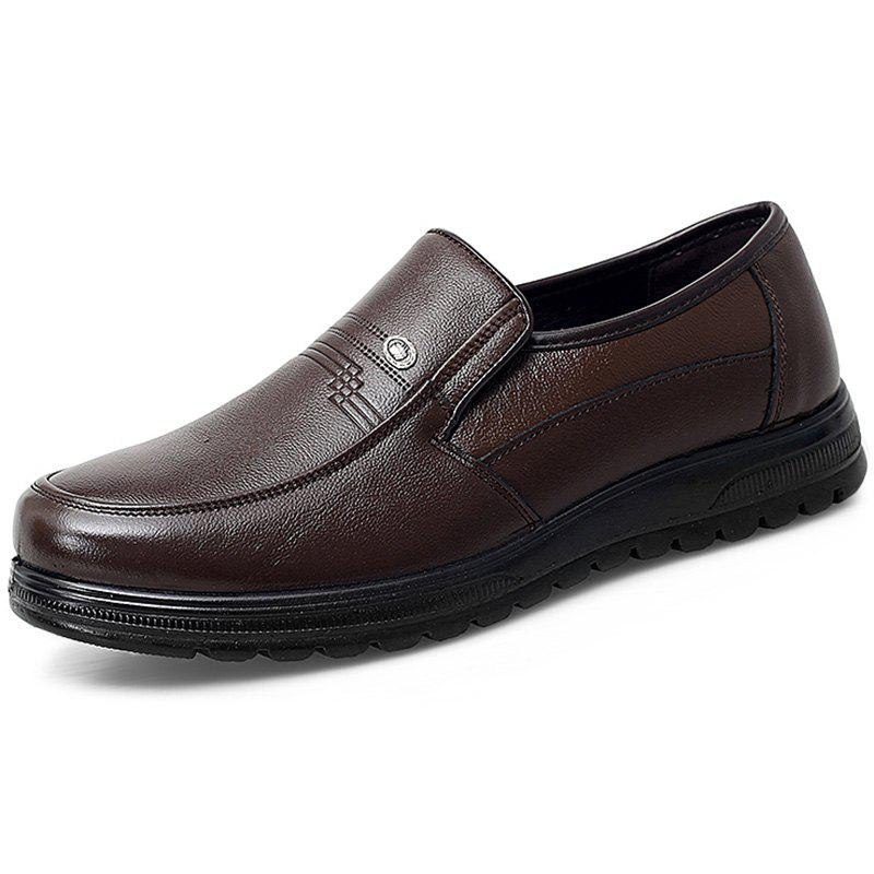 Buy Men's Outdoor Fashion Leather Casual Shoes