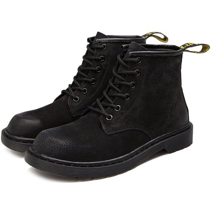 Outfits Stylish Lace-up High-top Wear-resistant Boots for Men